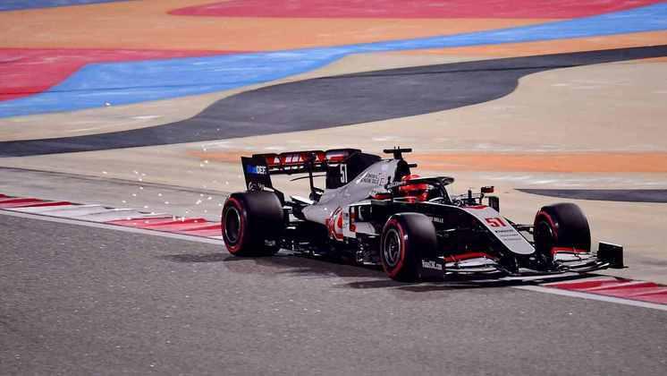17º - Pietro Fittipaldi (Haas) - 4.60 - Fez o básico e de forma decente.