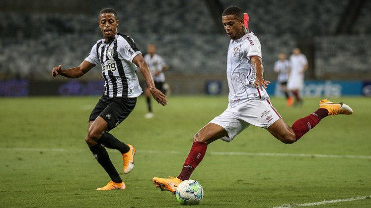 17ª rodada - Fluminense x Atlético-MG - Em Minas, empate por 1 a 1, no Rio, placar de 0 a 0 para os times na última temporada.