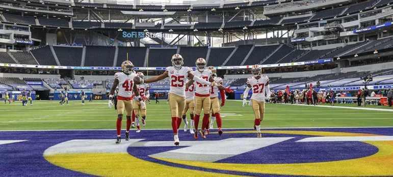17º San Francisco 49ers: Sem QB, várias lesões, time mudando a cada semana. Os 49ers fazem um trabalho que o torcedor pode ficar orgulhoso.