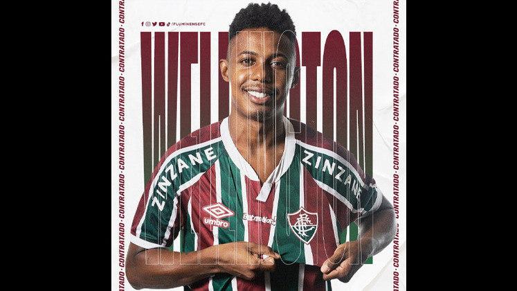 17º - Wellington - Posição: Volante - Clube: Fluminense - Idade: 30 anos - Valor de mercado segundo o Transfermarkt: 1,1 milhões de euros (aproximadamente R$ 6,81 milhões) - Contrato até: 31/12/2021
