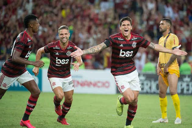 18º - 60.054 pagantes - Flamengo 2 x 0 Madureira - Carioca de 2020 (Maracanã) - Renda: R$ 1.555.172.