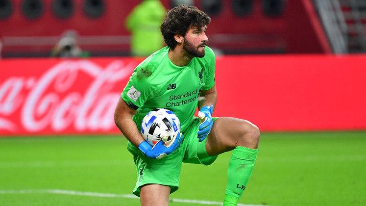 18 - ALISSON - A Roma pagou R$ 51 milhões em 2017, mas vendeu por R$ 62 milhões ao Liverpool: lucro de R$ 399 milhões