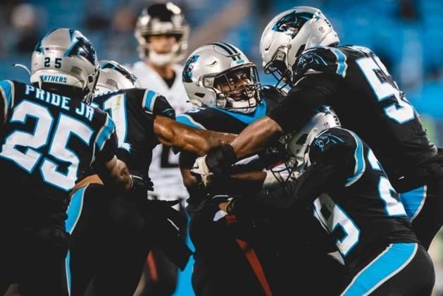 18º Carolina Panthers - Falta consistência para que a franquia seja colocada um patamar acima. Mas o projeto é construído com ambições futuras.