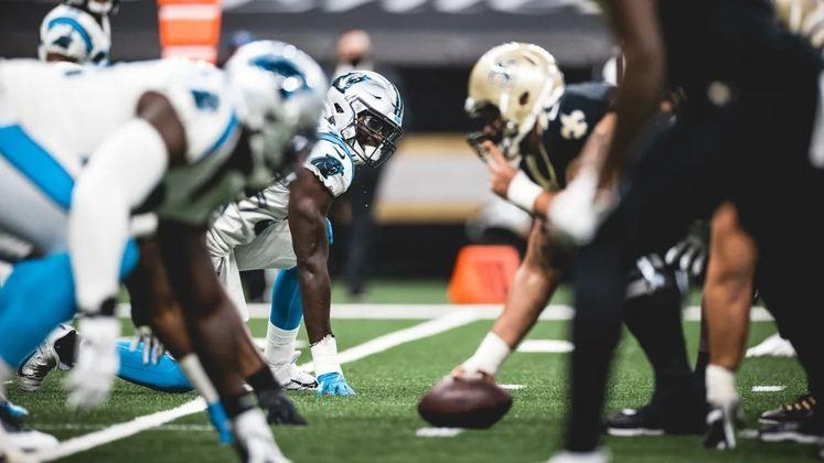 18 - Carolina Panthers: Uma grata surpresa em 2020, Carolina vai construindo agora o alicerce para um futuro promissor.