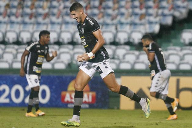 18º colocado –Botafogo (23 pontos/26 jogos): 0,0% de chances de ser campeão; 0,002% de chances de Libertadores (G6); 88,7% de chance de rebaixamento.