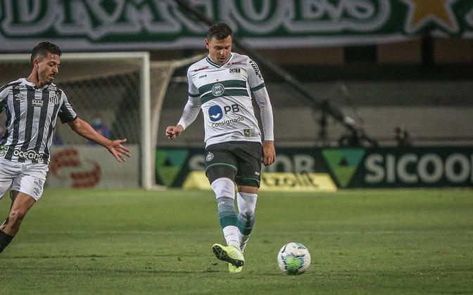 18º colocado – Coritiba (20 pontos) – 23 jogos / 0,00% de chances de título; 0,064% para vaga na Libertadores (G6); 75,4% de chance de rebaixamento.