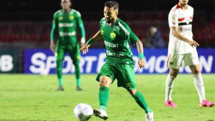 18º colocado – Cuiabá (6 pontos) – 9 jogos / 0.10% de chances de título; 4% para vaga na Libertadores (G6); 42.6% de chance de rebaixamento.