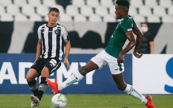 18º colocado – Goiás (26 pontos/28 jogos): 0% de chances de ser campeão; 0,002% de chances de Libertadores (G6); 73.2% de chances de rebaixamento.