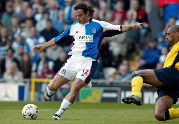 18º - Depois de passar por diversos clubes italianos, o ex-atacante Grabbi chegou ao Blackburn em 2001 com expectativas. Porém, o jogador decepcionou, fazendo somente dois gols em 30 partidas. Saiu do clube em 2004