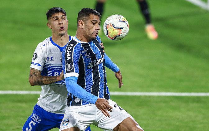 18º: Diego Souza (Grêmio) - um ponto.