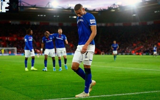 18º - Everton - Valor do elenco segundo o Transfermarkt: 495,5 milhões de euros (aproximadamente R$ 3,03 bilhões)