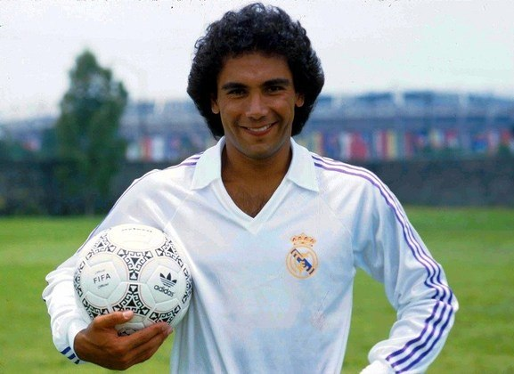 18º - Hugo Sánchez – mexicano - 541 gols - principal clube: Real Madrid