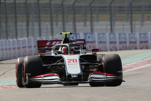 18) Kevin Magnussen (Haas), 1min34s681