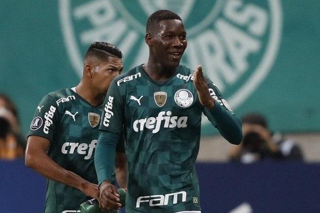 18º lugar: Patrick de Paula - Volante - Palmeiras - 21 anos - Valor de mercado segundo o site Transfermarkt: 7 milhões de euros (aproximadamente R$ 45,05 milhões)