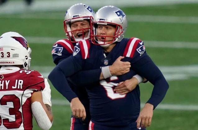 18º New England Patriots: Quando você dá o Pats como morto, o time surpreende e vence um adversário complicado. Nunca subestime Bill Belichick e seus comandados.