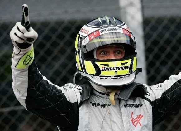 18º - O inglês Jenson Button, com 15 vitórias