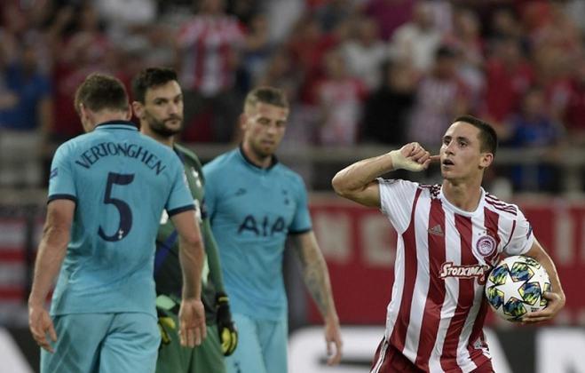 18º: Olympiacos - 139 pontos - 122 jogos