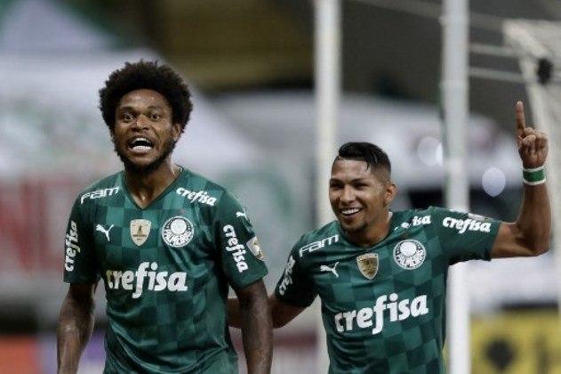 18º - Palmeiras: 6 vitórias, 4 empates e 3 derrotas em 13 jogos / 56,4% de aproveitamento