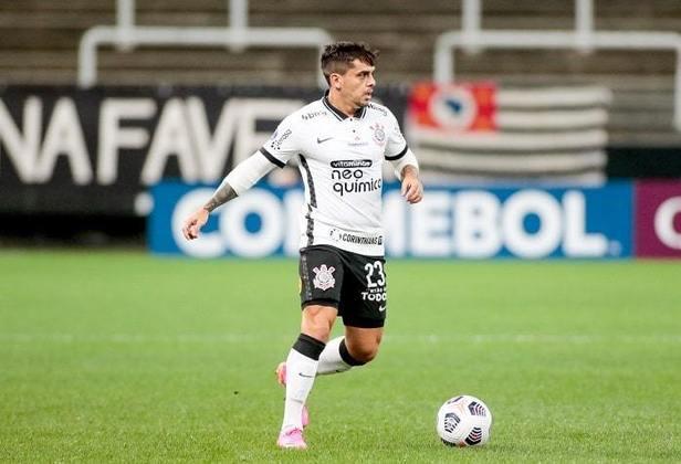 18º - Revelado pelo Corinthians, em 2006, teve a sua verdadeira passagem de destaque em seu retorno, em 2014. Neste ano, completou a sua partida de número 400 pelo Timão, no jogo contra a Inter de Limeira, pela quarta de final do Paulistão, em Itaquera, onde abriu a goleada corintiana por 4 a 1.