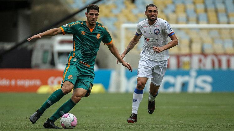 18ª rodada - Fluminense x Bahia - O Fluminense levou a melhor nos dois encontros entre as equipes na última temporada.