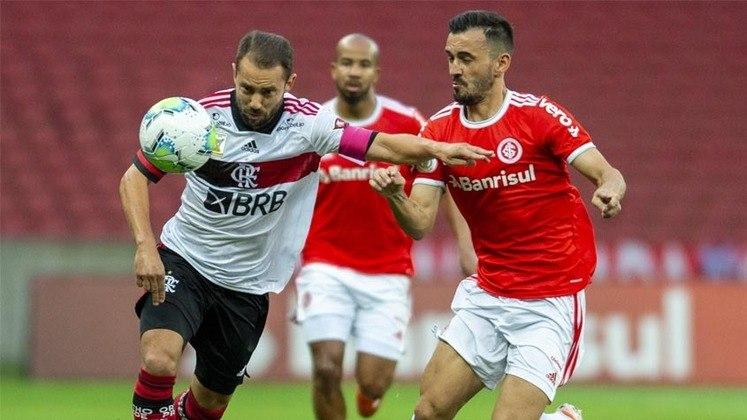 18ª rodada) Internacional 2x2 Flamengo, no Beira-Rio, em 25 de outubro de 2020