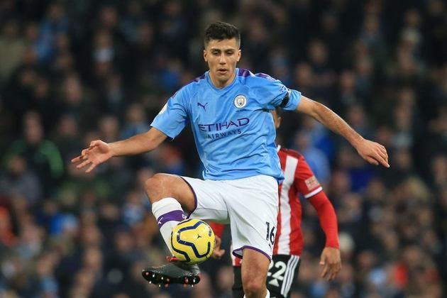 18º RODRI - outro do Manchester City. Valor de mercado: € 65 milhões (R$ 416 milhões)