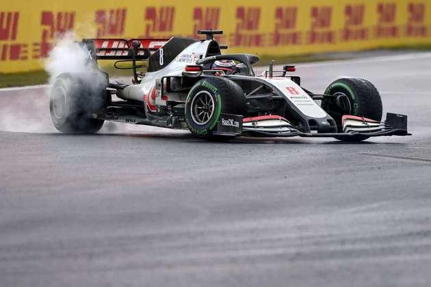 18 - Romain Grosjean (Haas) - 1.88 - Jamais teve chance e só foi visto na pista errando.