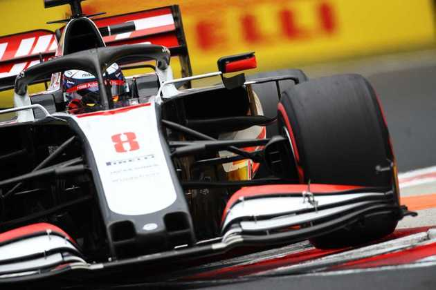 18) Romain Grosjean (Haas), 1min16s407