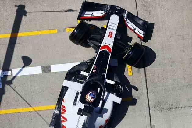 18) Romain Grosjean (Haas), 1min27s643