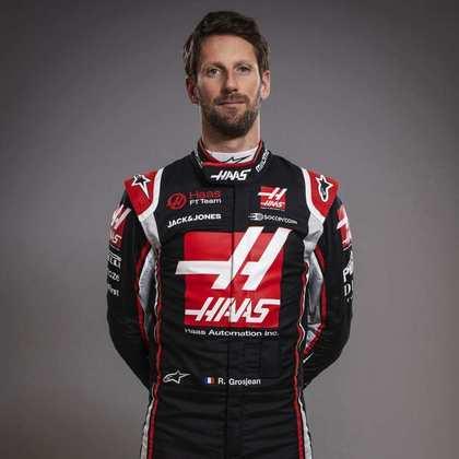 18º - Romain Grosjean (Haas) - 2 pontos - Melhor resultado: 9º no GP de Eifel