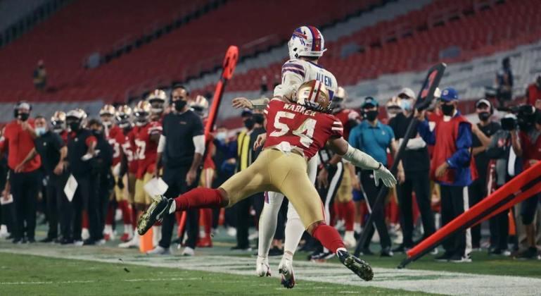 18º San Francisco 49ers (5-7) - Bem treinado, os Niners ainda demonstram força mesmo com uma equipe dizimada por lesões.