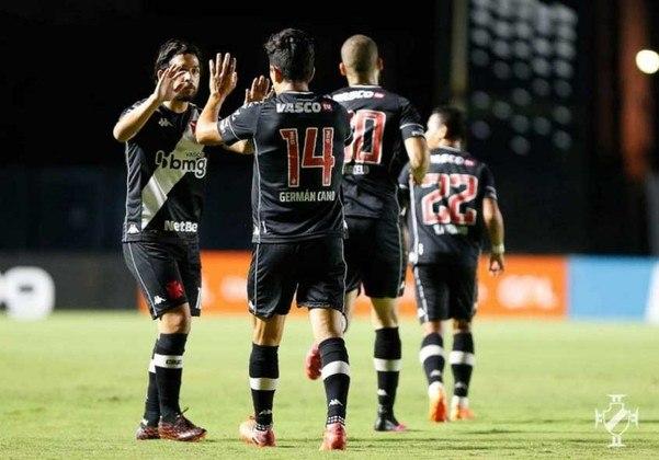 18º – VASCO: 16 pontos em 17 jogos. Quatro vitórias, quatro empates e nove derrotas. Treze gols marcados e vinte e oito sofridos. 31.37% de aproveitamento.