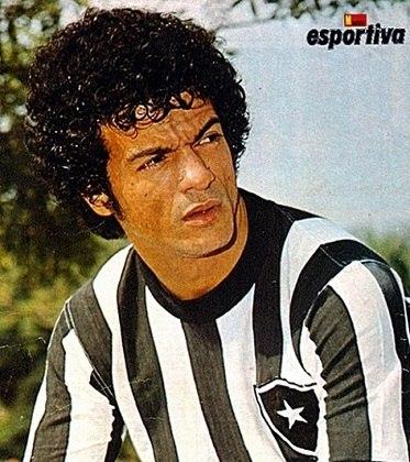 18/05/1977 - Botafogo 8 x 0 Campo Grande - Gols do Botafogo: Dé Aranha (foto) (2), Nilson Dias (2), Manfrini, Mário Sérgio, Paulo César e Perivaldo