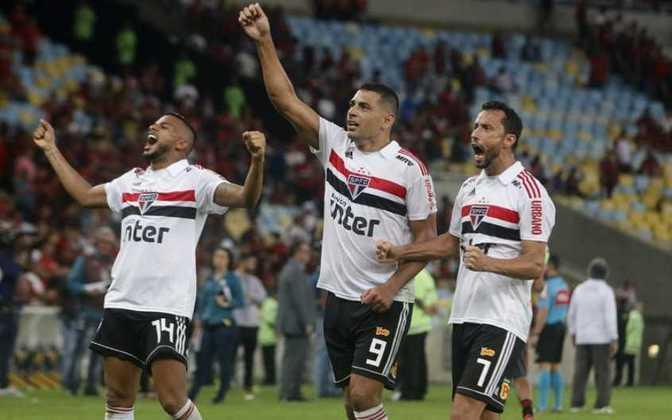 18/07/2018 - Flamengo 0 x 1 São Paulo (Maracanã) - Campeonato Brasileiro