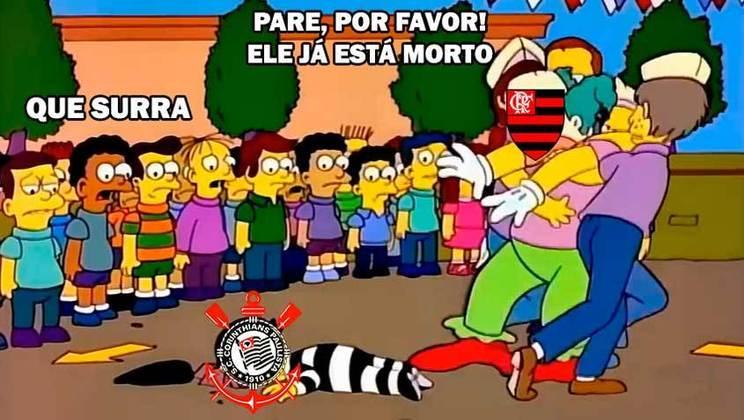 18/10/2020 (17ª rodada) - Corinthians 1 x 5 Flamengo