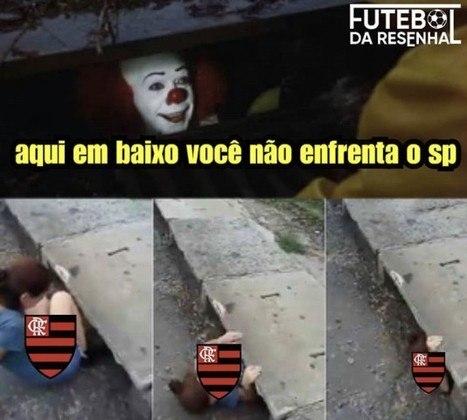 18/11/2020 - Sob o comando de Rogério Ceni, o Flamengo perdeu por 3 a 0 para o São e, com placar agregado de 5 a 1, foi eliminado da Copa do Brasil nas quartas de final.