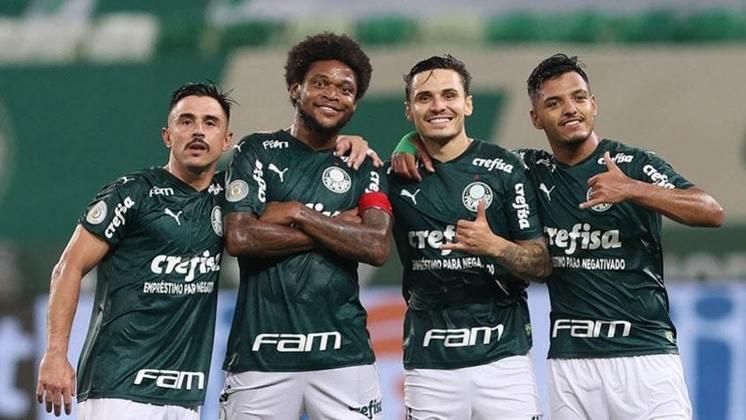 18/1/2021 - Palmeiras 4 x 0 Corinthians - Allianz Parque - 28ª Rodada do Brasileirão-2020: Mais uma vez amplamente melhor, o Verdão passeou em cima do rival e goleou com dois tentos de Raphael Veiga e dois de Luiz Adriano. E poderia ter sido mais...
