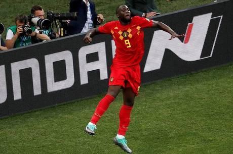 Lukaku comemora seu segundo gol contra o Panamá