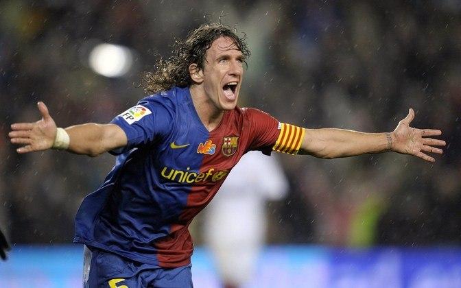 19 - Carles Puyol - País: Espanha - Posição: Zagueiro - Clube: Barcelona