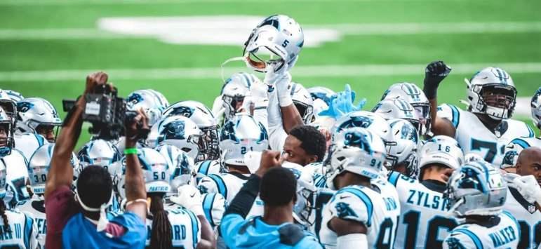 19º Carolina Panthers: Matt Rhule já construiu o alicerce em Charlotte. A reconstrução dos Panthers segue em ritmo acelerado.