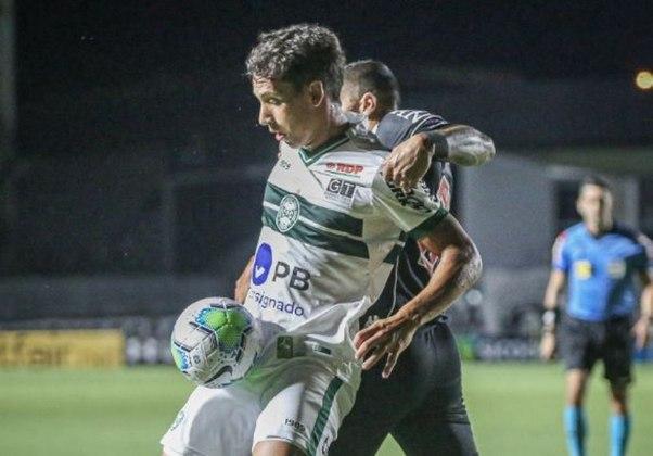 19º colocado – Coritiba (28 pontos/34 jogos): 0.0% de chances de ser campeão; 0.0% de chances de Libertadores (G6); 99.86% de chances de rebaixamento.