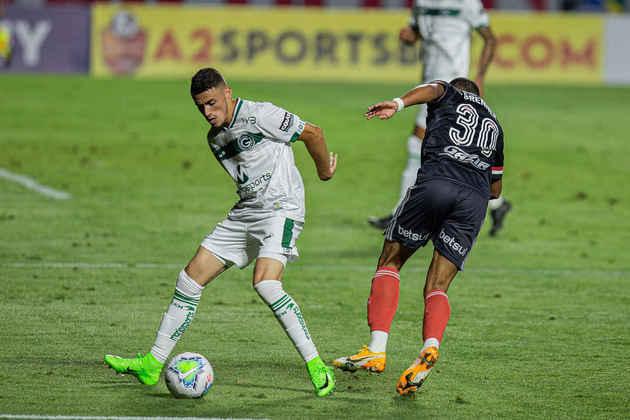 19º colocado – Goiás (20 pontos/25 jogos): 0% de chances de ser campeão; 0,001% de chances de Libertadores (G6); 86,8% de chances de rebaixamento.