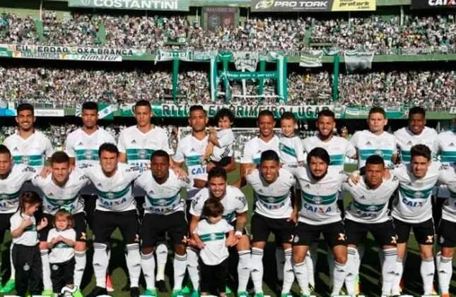 19° - Coritiba (1,07 milhão de torcedores) - Três títulos: Três estaduais (2012, 2013 e 2017).