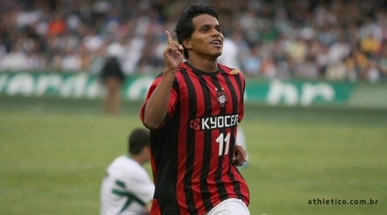 19º - David Ferreira - colombiano - 22 gols em 118 jogos - clubes que defendeu: Athletico Paranaense