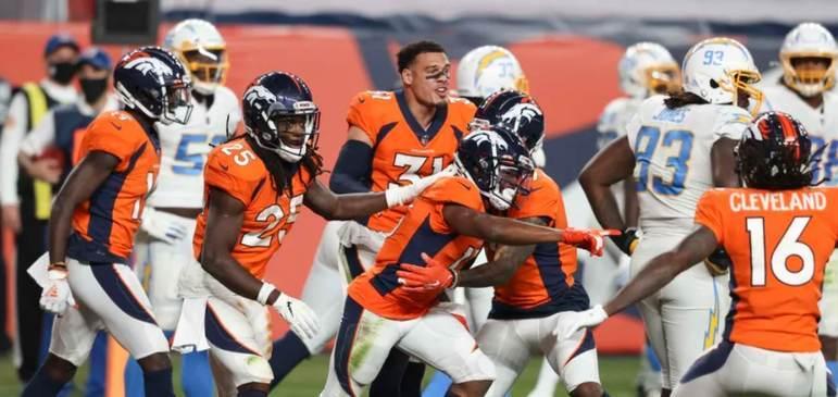 19º Denver Broncos - Drew Lock do segundo tempo contra os Chargers da esperança. O do primeiro tempo não é jogador da NFL.
