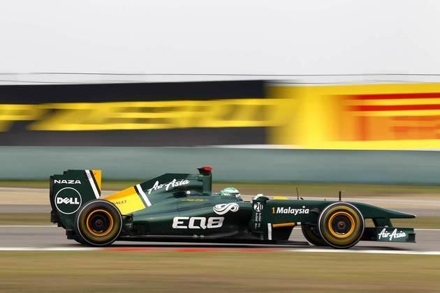 19º) Heikki Kovalainen era o outro piloto da Lotus. E também se arrastou no grid antes de deixar a F1