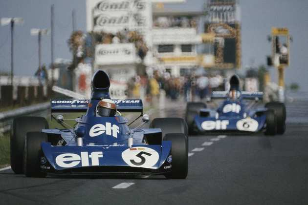19 - Jackie Stewart, 17 poles, a última delas com a Tyrrell 006 no GP da Alemanha de 1973