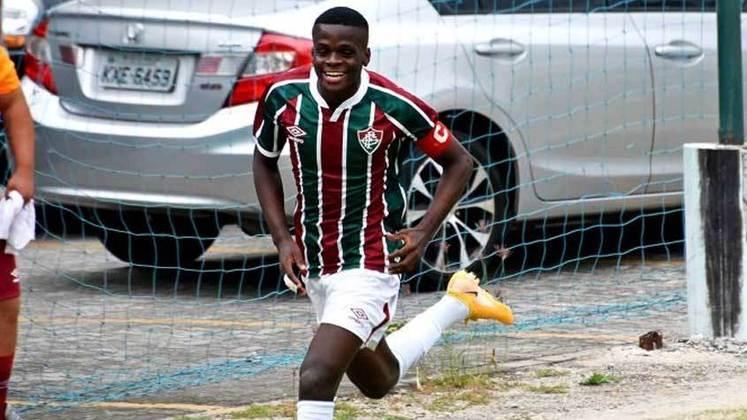 19º lugar: Metinho - Fluminense - 18 anos - Meia - Avaliado em: 3,5 milhões de euros (aproximadamente R$ 22,68 milhões)