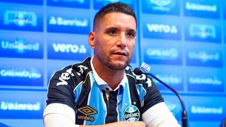 19º - Thiago Neves - 54 gols - Ex-Paraná, Fluminense, Flamengo e Cruzeiro, Thiago Neves atualmente defende a camisa do Grêmio.
