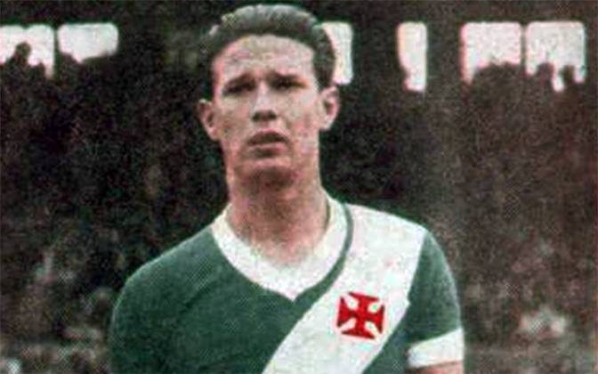 19/06/1947 - Valencia-ESP 1x4 Vasco - Gols do Vasco: Chico (foto) (2), Friaça e Danilo Alvim